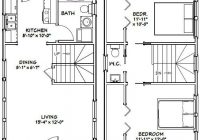 16×30 tiny house 16x30h8e 878 sq ft excellent floor 16×30 Small Cabin Plans