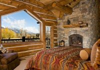 17 cozy log cabin bedrooms you wish you could sleep in Bedroom Log Cabin Homes