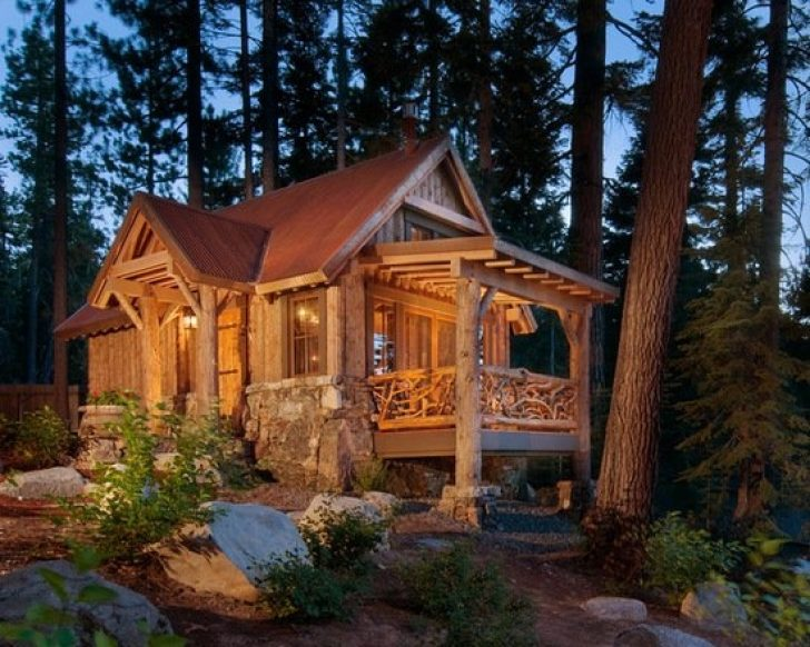 Permalink to 10 Small Mountain Cabin Plans Ideas