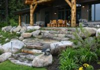 17 spectacular rustic landscape designs that will leave you Cabin Landscaping