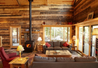 19 log cabin home dcor ideas Small Cabin Decorating Ideas