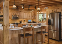 19 log cabin home dcor ideas Small Log Cabin Kitchens
