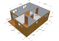 2 bedroom unit wendy houses pretoria and cape town 012 670 3 Bedroom Wendy House Plans
