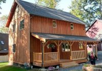 2 story cabin turn an inexpensive lake house in to a great Small Two Story Cabin Plans