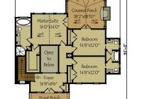 2 story rustic lake house plan floor plans 3 lake Lake Cabin Floor Plans