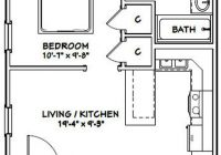 20×20 house 20x20h1 400 sq ft excellent floor plans 20 X 20 House Floor Plans