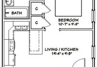 20×20 house 20x20h1a 400 sq ft excellent floor plans 20 X 20 House Floor Plans
