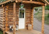 23 diy log cabins build for a rustic lifestyle hand Small Cabins To Build