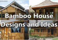 25 stunning bamboo house designs and ideas coolupon Bamboo House Design