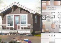 27 adorable free tiny house floor plans craft mart Amazing Small House Cabin Plans Designs