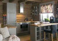 27 small cabin decorating ideas and inspiration cabin Small Log Cabin Kitchens