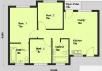 3 bedroom house plans designs south africa on bedroomed 3 Bedroom Wendy House Plans