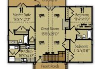 3 bedroom lake cabin floor plan max fulbright designs Lake Cabin Floor Plans