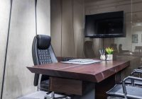 47 stunning table lamp to brighten up you work space Small Office Cabin Design
