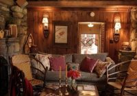 58 wooden cabin decorating ideas home design ideas diy Small Log Cabin Decorating Ideas