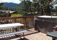 6 hummingbird cabin Estes Park Cabins With Hot Tubs