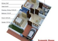 600 sq ft house plans 2 bedroom indian style 20×30 house 400 Sq Ft House Plans In Chennai