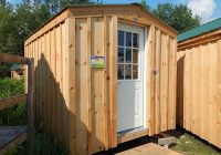 8×10 bunkie cottage Small Wooden Cabin