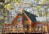 a cute wooden log cabin with a stackstone chimney what i Log Cabins In Branson Mo
