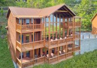 a view from above video walk through Gatlingburg Cabins