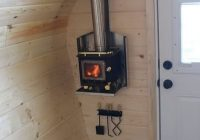 acorn micro cabin forest trek woodwork tiny house tiny Wood Burning Stoves Cabin