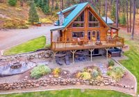 all star review of picturesque log cabin on 5 private Star Log Cabins With Hot Tubs