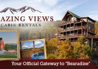 amazing views cabin rentals pigeon forge cabin rentals Amazing View Cabins