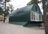 arched cabins will deliver you a warm home for under 5000 Arched Cabin Kits
