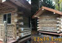 aspen 12×16 log cabin meadowlark log homes 12×16 Cabin With Loft Plans