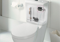 automatic toilet flusher kit wave sensor toilet tank flush Automatic Bathroom