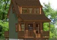 Awesome 14×14 house 14x14h3a 343 sq ft excellent floor 14×14 Cabin With Loft Choices