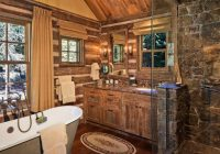bathrooms architectures decorating surprising rustic log Cabin Bathroom Decor