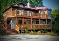 beautiful 3 king br pet friendly cabin has balcony and wi Pet Friendly Cabins In Tennessee