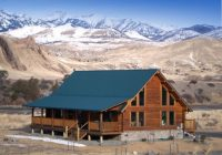 beautiful log house on the yellowstone river emigrant Yellowstone River Cabins