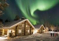 best adult only lodges in finnish lapland Night Log Cabin Breaks