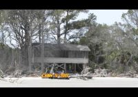 Best hunting island state park cabin road a victim of beach erosion part 1 february 2016 Hunting Island State Park Cabins Ideas
