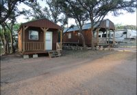 big chief rv and cabin resort on lake buchanan cabins Lake Buchanan Cabins