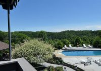 blissful ridge lodge in hocking hills with pool Hocking Hills Cabin With Pool