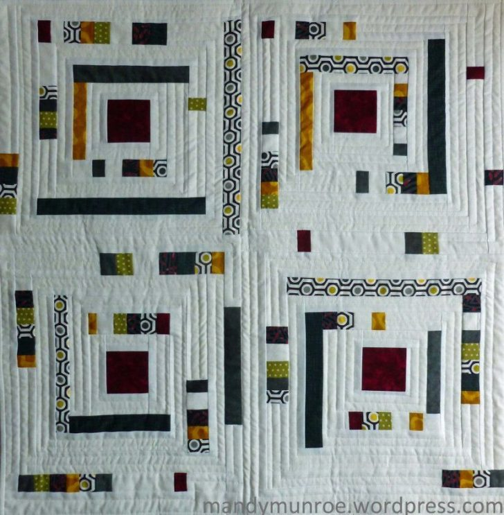 Permalink to 11 Log Cabin Quilts Modern Ideas