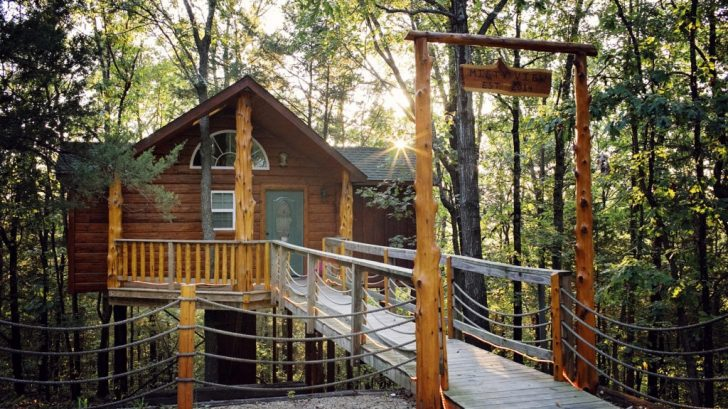 Permalink to 10 Treehouse Cabins In Branson Gallery