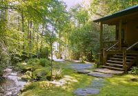 brevard nc waterfront cabins trout house falls Cabins In Brevard Nc