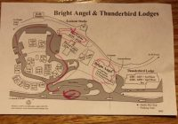 bright angel cabin map picture of bright angel lodge Bright Angel Lodge And Cabins