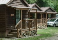 budget friendly cabin rentals at bryson city nc campground Deep Creek Cabins