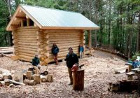 build your own log cabin homes build your own home Building A Log Cabin By Hand