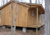 building on skids small cabin forum Log Cabin On Skids