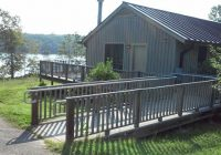 cabin 10 has wc ramp and bathroom is wc ready picture of Lake Anna State Park Cabins