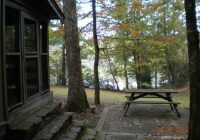 cabin 16 looking towards the lake picture of oconee state Oconee State Park Cabins