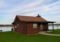 cabin 2 one bedroom sleeps six Mozingo Lake Cabins