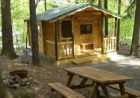 cabin camping mountain vista cabin camping in the pocono Campgrounds With Cabins