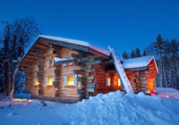 cabin holiday canada finland iceland sweden norway Night Log Cabin Breaks